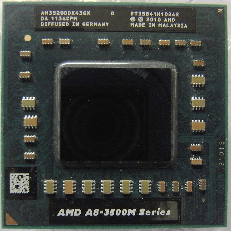 AMD A8-3520M AM3520DDX43GX 1.6GHz 4MB Socket FS1 Mobile CPU Processor