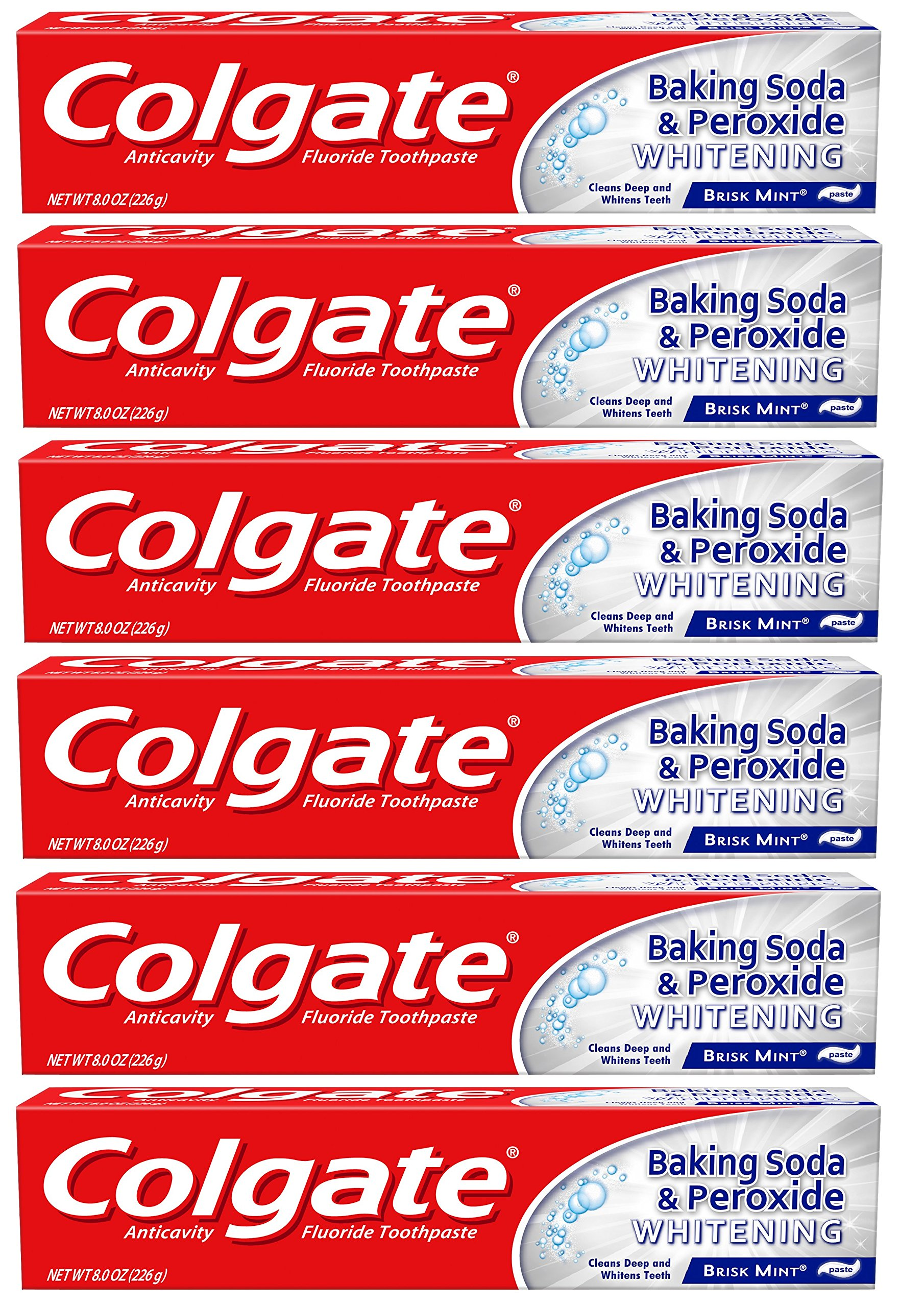 Amazon Com Colgate Baking Soda And Peroxide Whitening Toothpaste
