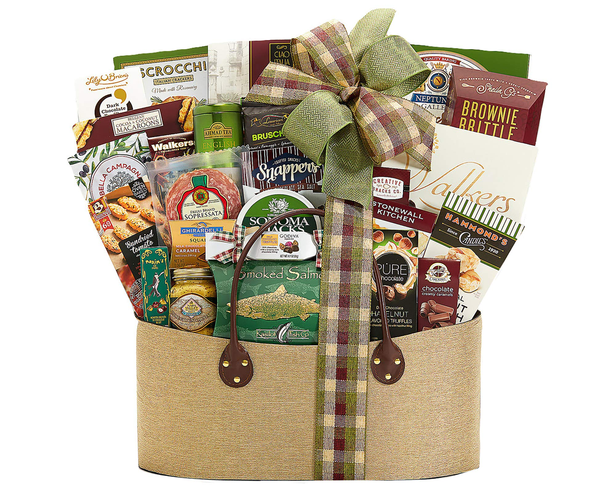 Wine Country Gift Baskets Gourmet Choice Gift Basket. Perfect For Any & All Occasions. Retirement, Birthday, Celebration, Sympathy & Appreciation. Featuring An Extravaganza of Award Winning Brands by Wine Country Gift Baskets (Image #1)