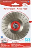 Roto Rasp 115mm Universal Sanding disc for sanding and shaping wood, plastic, rubber Teeth size 2mm Medium cut