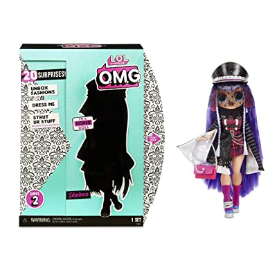 L.O.L. Surprise! O.M.G. Shadow Fashion Doll with 20 Surprises: Toys & Games