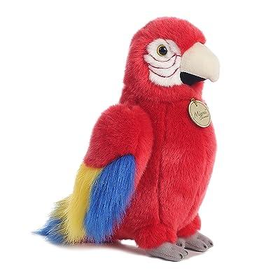 Aurora World Miyoni Macaw Parrot Plush: Toys & Games