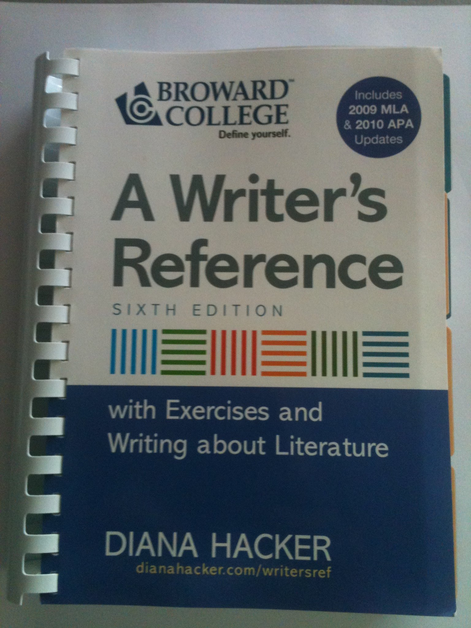 A Writer's Reference with Exercises 6th Edition: 9780312621971: Amazon.com:  Books
