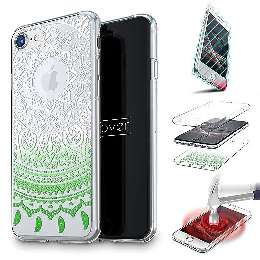4 opinioni per URCOVER Cover 360 Mandala per Apple iPhone 6 6s | Custodia Integrale Trasparente