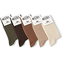Mat And Vic's Chausettes, Confortables, Respirantes, OEKO-TEX 100-35 36 37 38 39 40 41 42 43 44 45 46 (Lot de 10 paires)