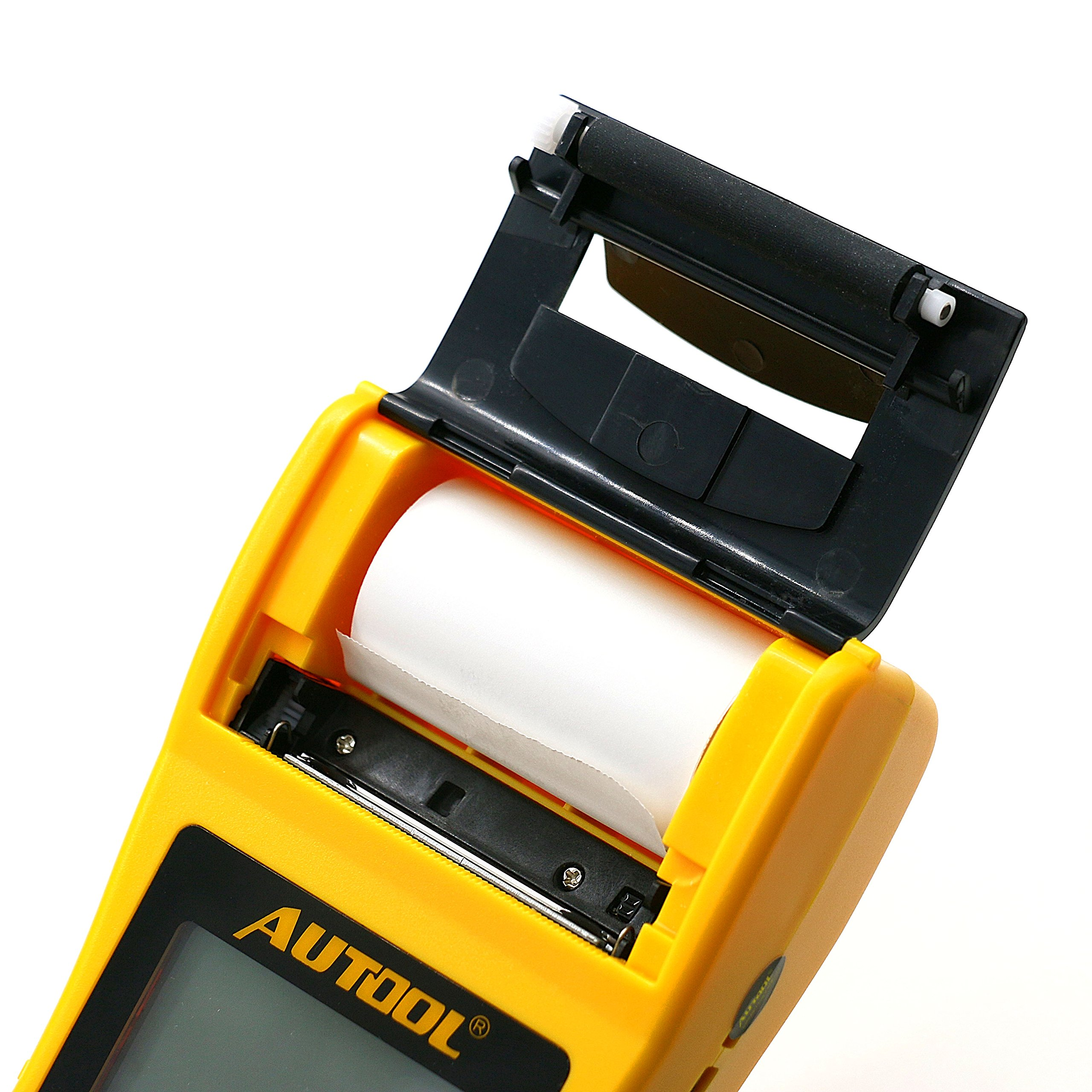 AUTOOL Automotive Battery Tester 12V/24V Car Battery System Tester Cranking and Charging Test ystem Analyzer Scan Tool with Printer (BT-660) by AUTOOL (Image #8)