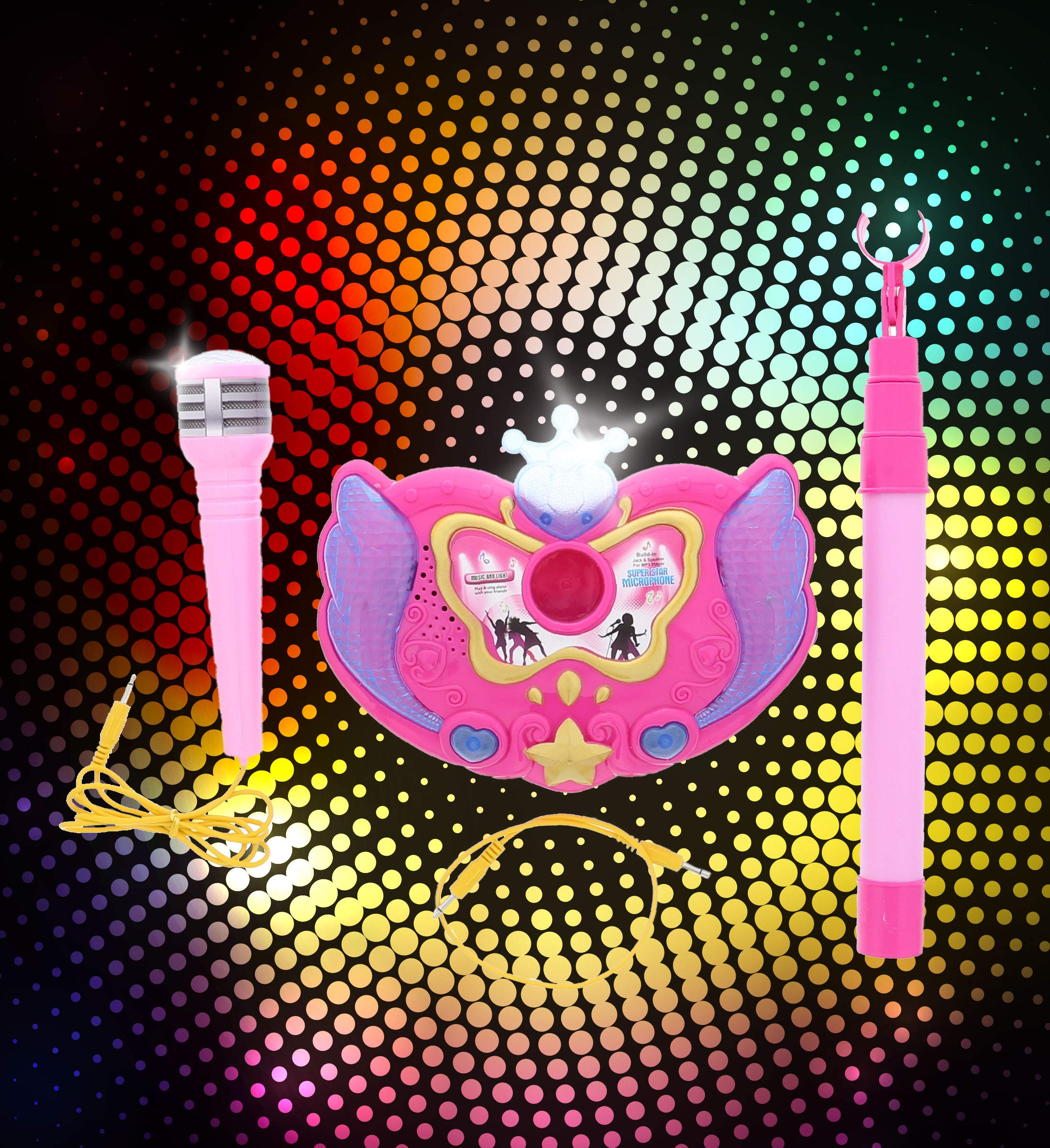Karaoke Microphone Super Star Sing As If You Are a Star!!!(Color May Vary) by Lvnv Toys (Image #4)