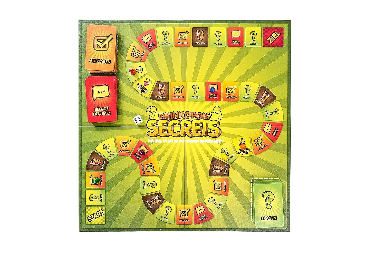 Drinkopoly Secrets - Das Spiel, an das Du dich (un)gern erinnern ...