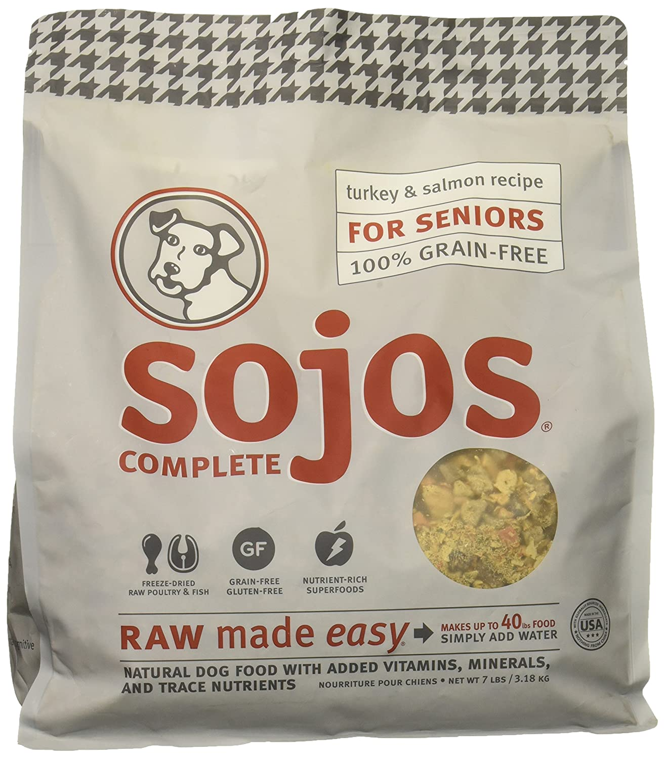 2. Sojos Complete Natural Freeze-Dried Grain-Free Dog Food
