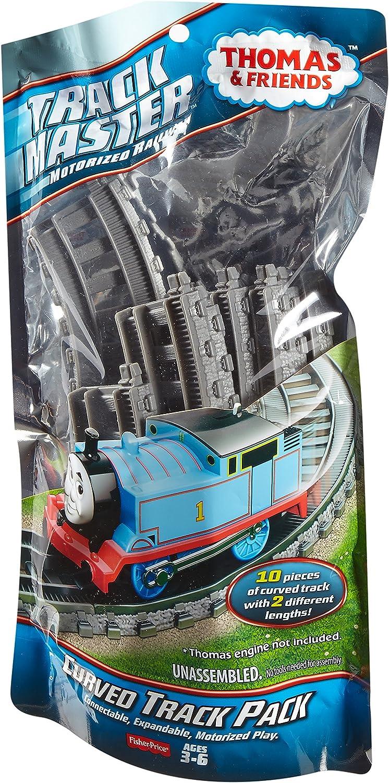 Thomas y amigos ferroviarios Fisher Price Motorizados Interruptor Track Pack 2 Piezas