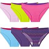 Fruit of the Loom Girls Girls Cotton Bikini Underwear