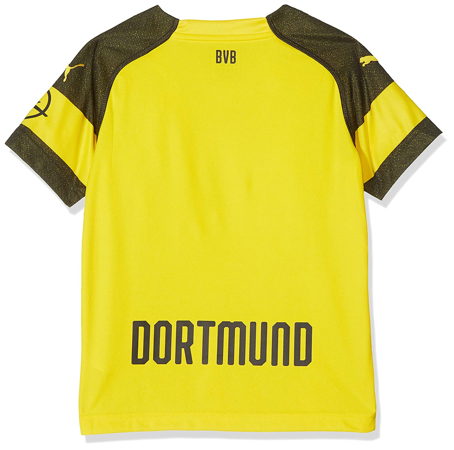 the best attitude 2aeb0 347de Puma 2018-2019 Borussia Dortmund Home Shirt (Kids), Shorts ...