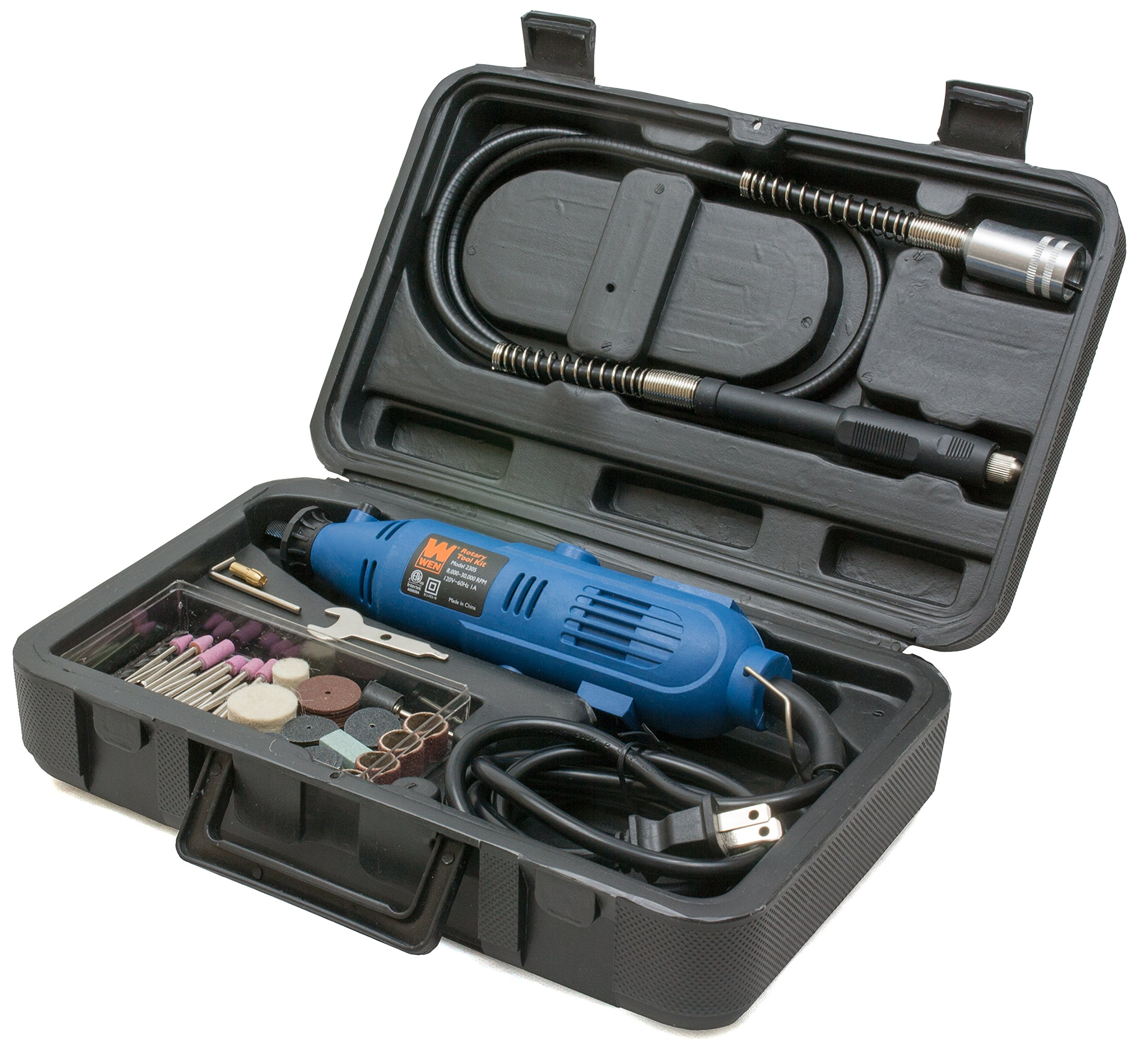 WEN 2305 Rotary Tool Kit with Flex Shaft by WEN (Image #2)