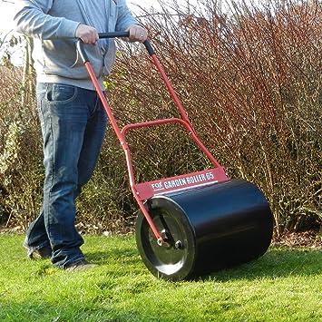 FOX 65 Litre Steel Garden Lawn Roller Heavy Duty 100 Steel 500mm