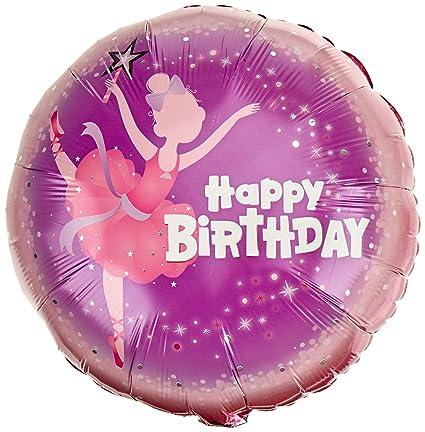 balloons Dancing happy birthday