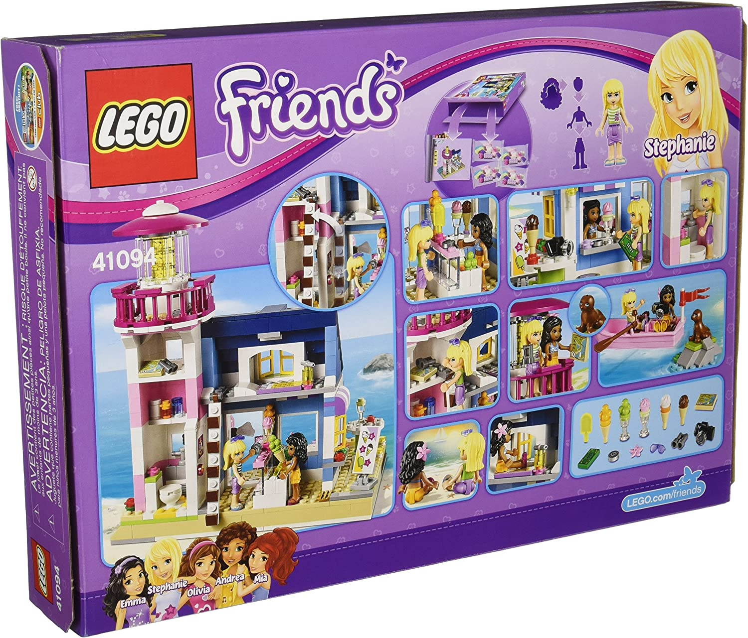 LEGO Friends HEARTLAKE LIGHTHOUSE Set 41094 age 6+ 473pcs Free Shipping New