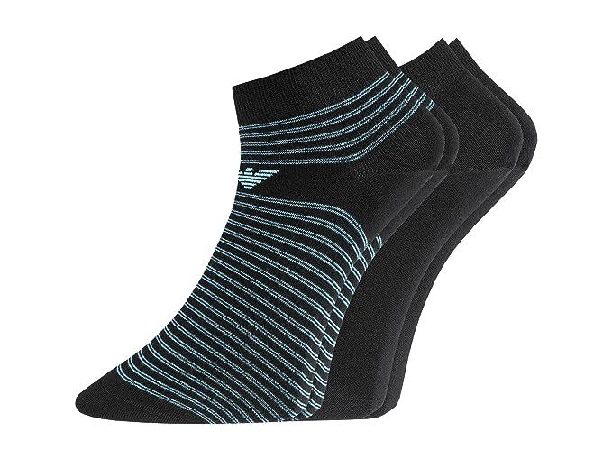 Emporio Armani - Calcetines cortos - para hombre Black 00020 39/46: Amazon.es: Ropa y accesorios