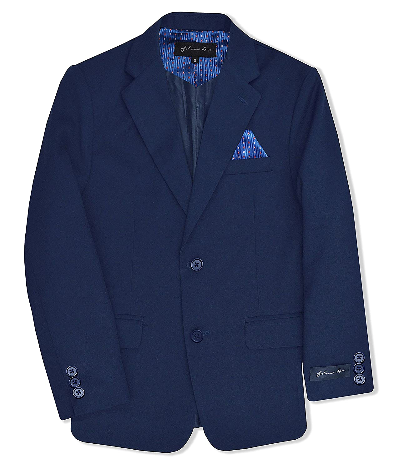 Johnnie Lene Dress Up Boys' Blazer Jacket