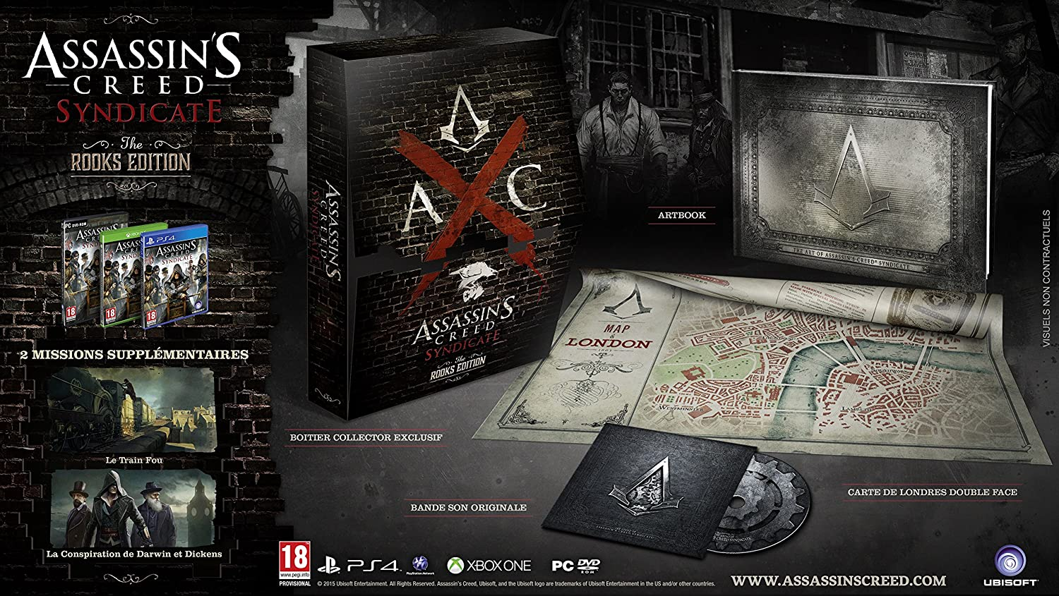 Collector The Rooks d'Assassin's Creed Syndicate