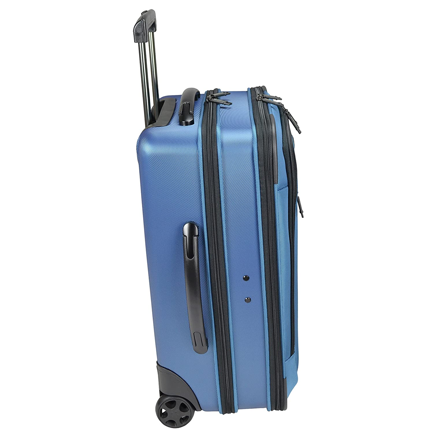 Amazon.com | Traveler\'s Choice Sienna Hybrid Carry-On Rolling ...