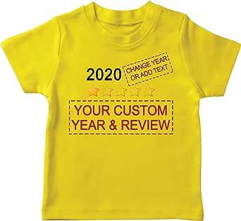lepni.me Camiseta para Niños Muy Malo No Recomendaría Comentarios Valoración Personalizada de Estrellas y Texto 2021 Revisión