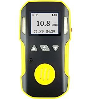 Ammonia NH3 Detector & Meter by Forensics | Professional Series | Water, Dust & Explosion