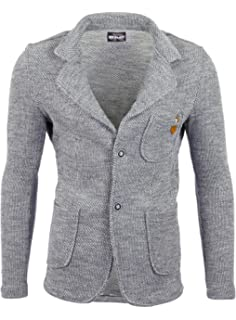 Reslad Herren-Sakko Sportlich Jakett Anzug Jacke Slim Fit Freizeit Blazer- Herren RS- f0729d22bd