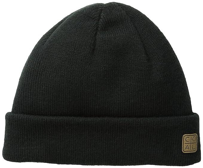 92c2cc89dba280 Amazon.com: Coal Men's Harbor Unisex Beanie, Black, One Size: Clothing