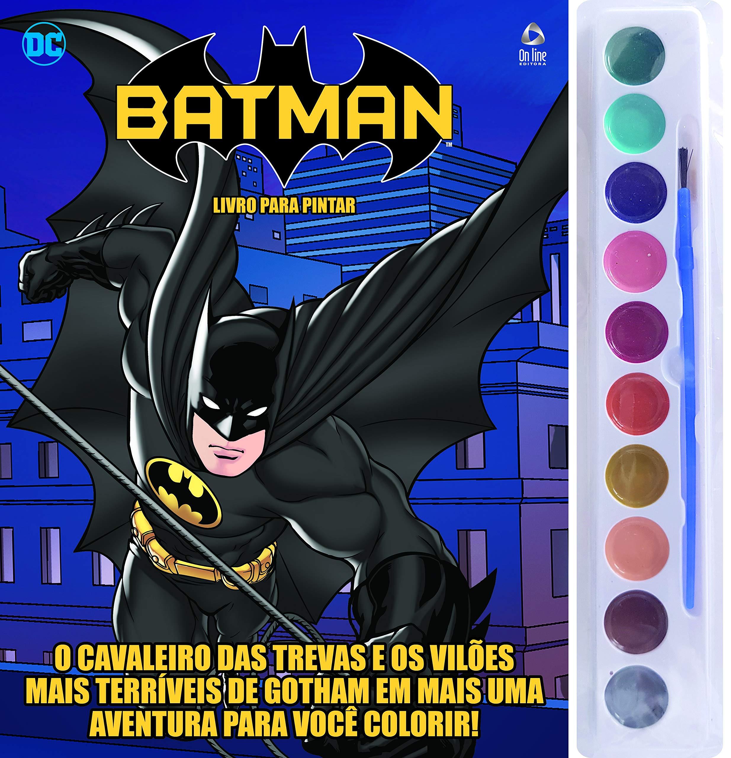 Batman Livro Para Pintar Em Portugues Do Brasil Varios