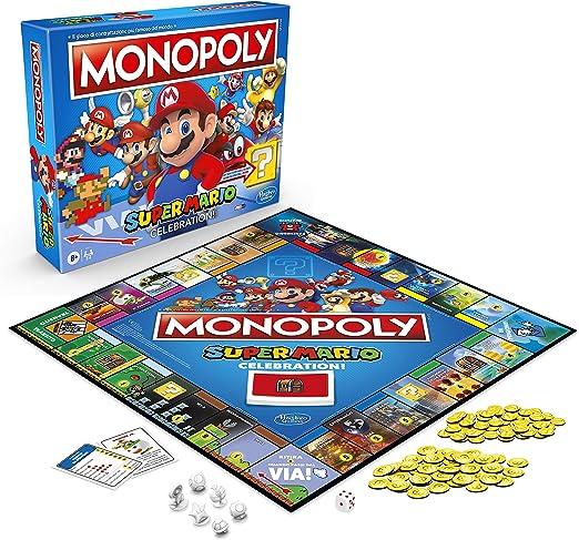 Monopoly Super Mario Celebration (versión en español): Amazon.es: Juguetes y juegos