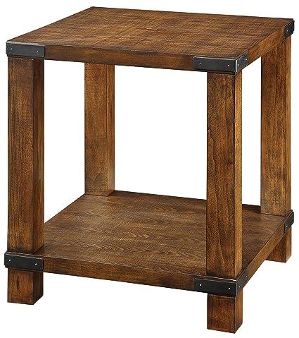 Furniture Of America CM4227E Broadus Dark Oak End/Side/Nesting Tables
