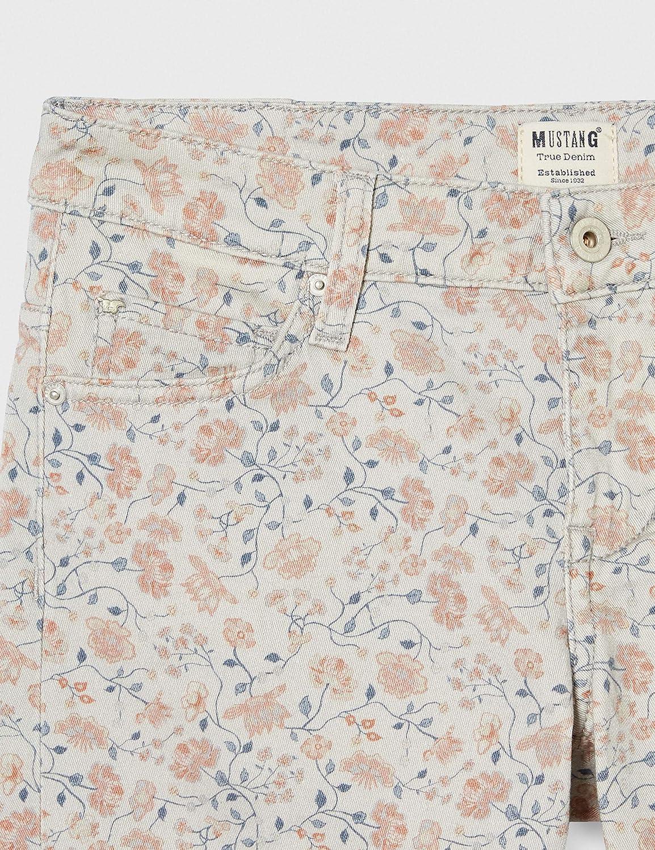 Multicolore Taille Fabricant: 32 Mustang Bermuda Floweraop/_3 11638 44 Femme