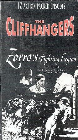 Amazoncom Zorros Fighting Legion The Cliffhangers Reed Hadley