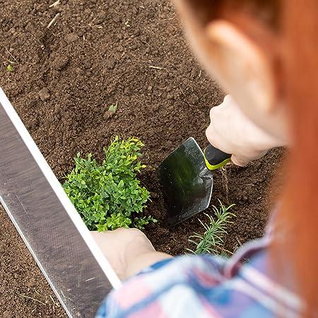 Relaxdays Mini Invernadero, Ensamblable, Translúcido, Protección UV, Aluminio, 100 x 50 x 50 cm, Transparente: Amazon.es: Jardín