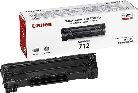 Canon Toner Cartridge 712 Schwarz Standard Bürobedarf Schreibwaren
