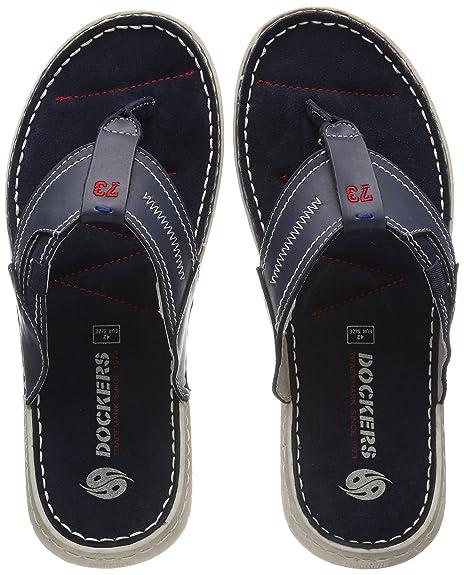 38sd004-204600, Sandalias de Gladiador Para Hombre, Azul (Blau 600), 41 EU Dockers by Gerli
