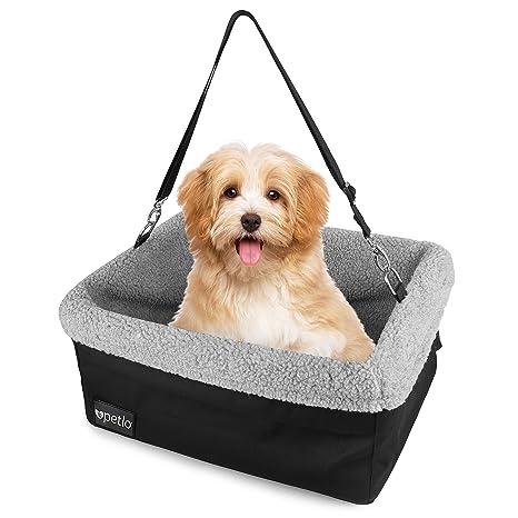 Petlo Dog Booster Car Seat With Soft Luxurious Fleece