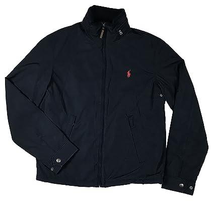 98d6957e04d Ralph Lauren Polo Herren Jacke Übergangsjacke dunkelblau Größe S ...