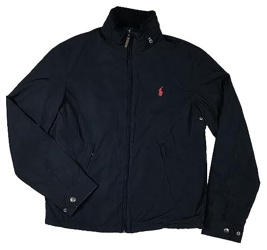 cce3d422307 Ralph Lauren Polo Herren Jacke Übergangsjacke dunkelblau Größe S  Amazon.de   Bekleidung