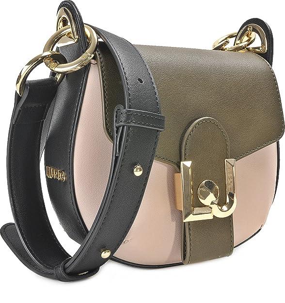 Damen Handtaschen, Schultertaschen, Umhängetaschen, Schwarz, Grau, Beige, 20 x 19 x 11 cm (B x H x T) Liu Jo