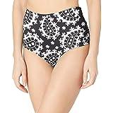 Anne Cole Women's High Waist to Fold Over Shirred Bikini Bottom Swimsuit