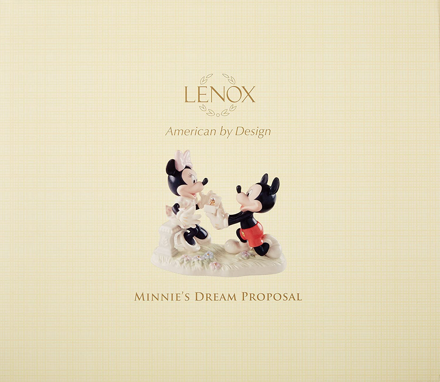 Lenox Minnie s Dream Proposal Figurine