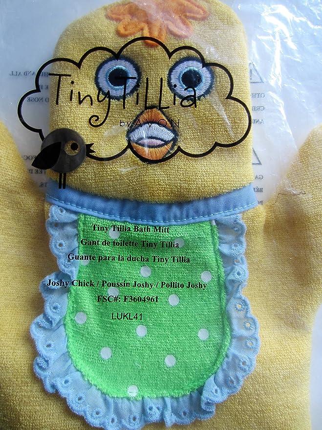 Amazon.com: tiny tillia Joshy Chick bath mitt: Office Products