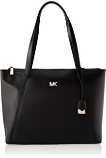 69ba62c6267d Michael Kors Maddie Medium Crossgrain Leather Tote, Women's Pink ...