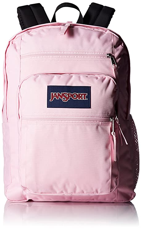 a011acb7c5 Amazon.com  JanSport Big Student Backpack - Pink Mist - Oversized ...