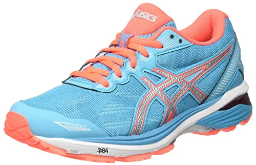 ASICS Gt-1000 5, Zapatillas de Running para Mujer, Azul (Aquarium / Silver / Flash Coral), 39 EU: Amazon.es: Zapatos y complementos