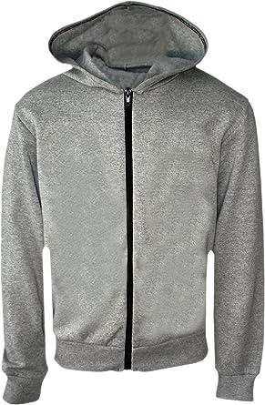 More Mile Girls Fleece Sweatshirt Grey