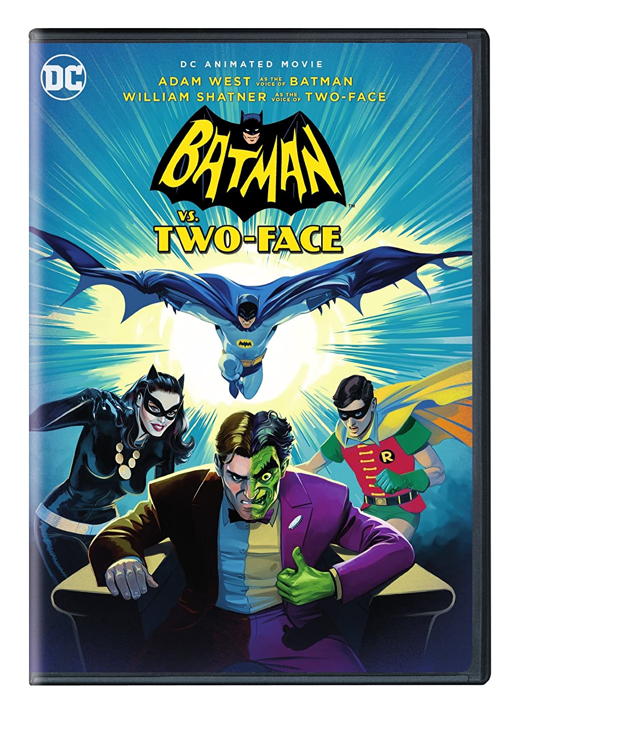 Amazon.com: Batman vs. Two-Face: Adam West, Burt Ward ...
