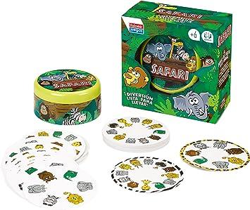 Falomir Safari, Juego de Mesa, Cartas (28412): Amazon.es: Juguetes y juegos