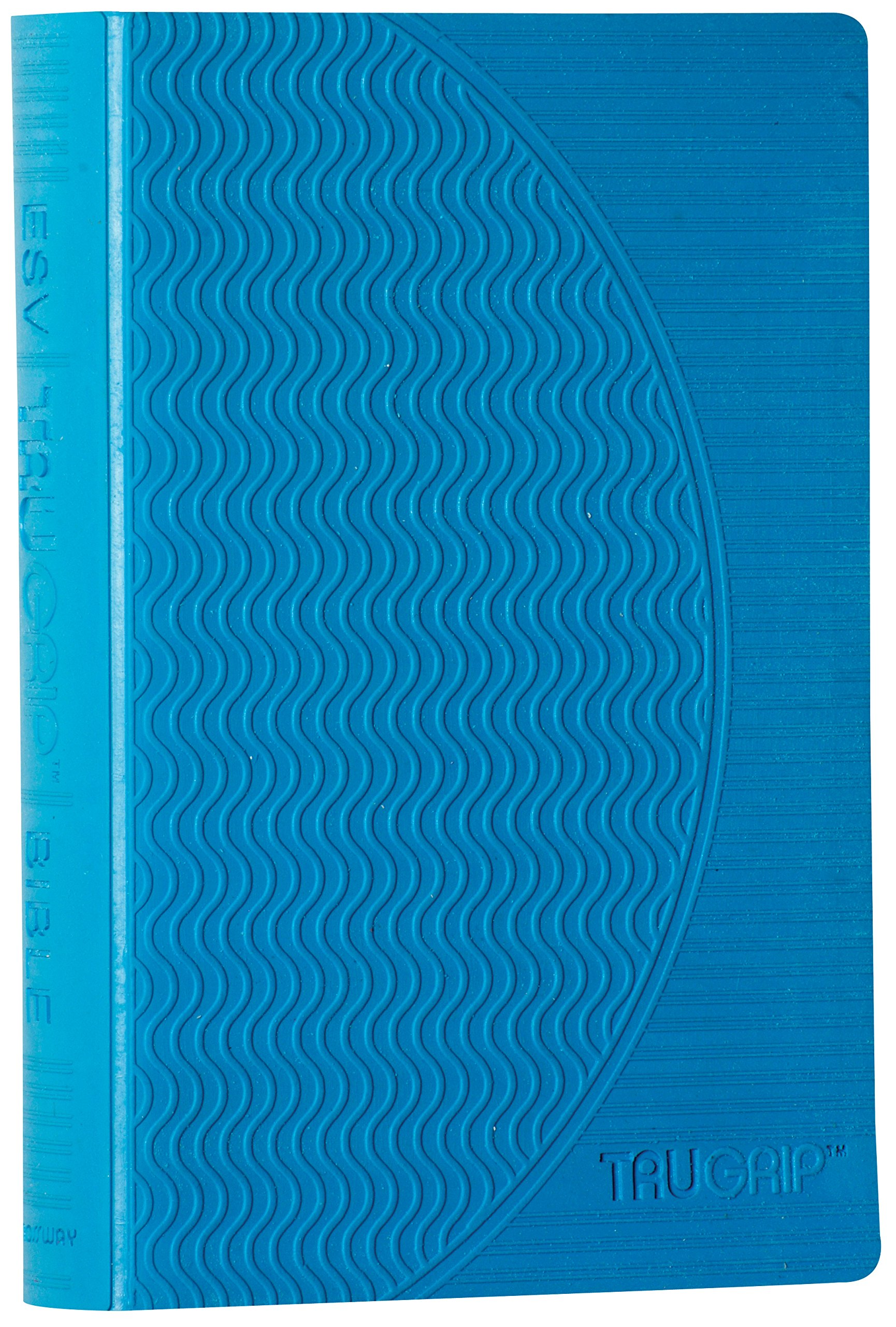 ESV Compact TruGrip Bible, Rubber Cover, Blue, Red Letter Text ebook